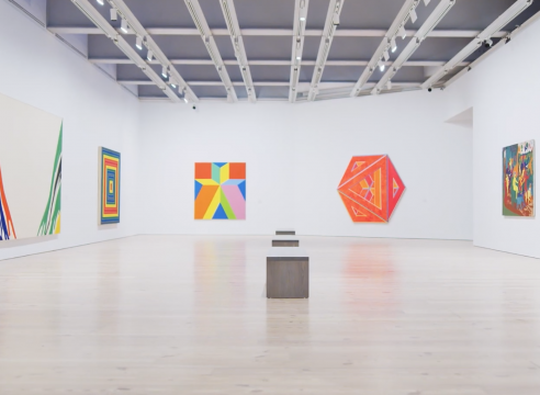 Spilling Over: Painting Color in the 1960s