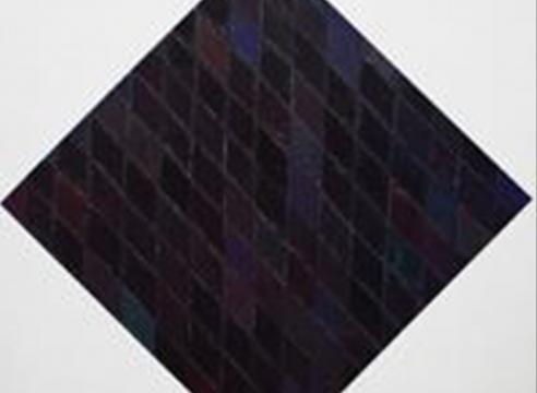 Pat Lipsky: The Black Paintings, 1993-1997