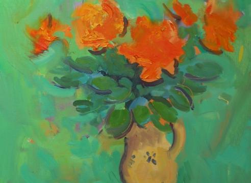 Paul Resika: Summer Flowers
