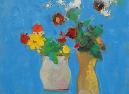 Paul Resika: Flowers