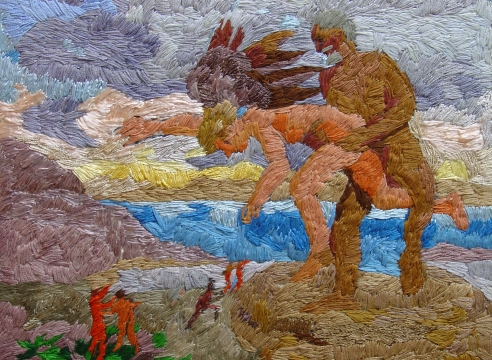 Rosemarie Beck: Embroidered Mythologies