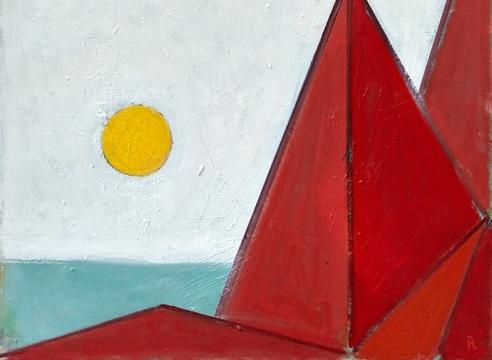 Paul Resika: Geometry and the Sea