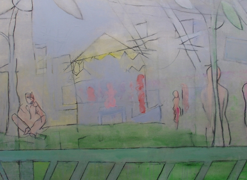 Figure As Landscape: The Late Paintings Of Anne Tabachnick