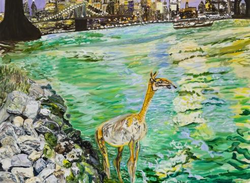 Olive Ayhens: Urbanites and Ur-Beasts