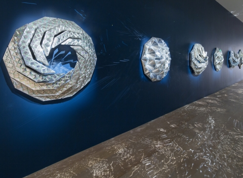 Monir Shahroudy Farmanfarmaian at Savannah College of Art and Design Museum of Art