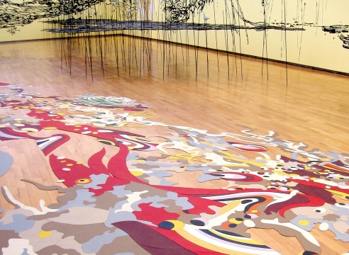 Matthew Ritchie at MASS MoCA