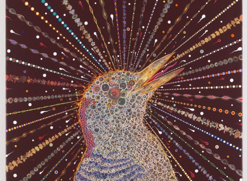 Fred Tomaselli at Oceanside Museum of Art