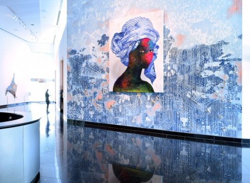 Firelei Báez at the Kemper Museum of Contemporary Art