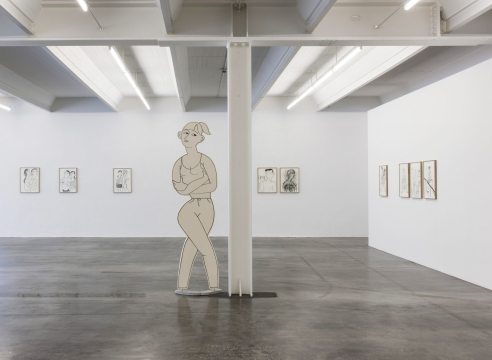Grace Weaver at Kunstverein Reutlingen