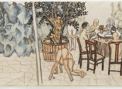 Yun-Fei Ji at Krannert Art Museum