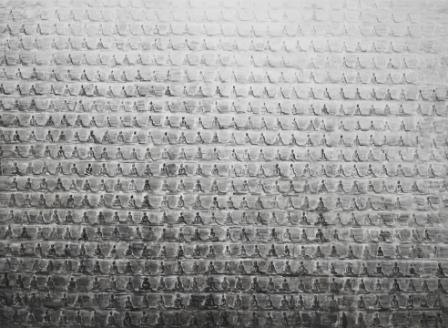 Shi Zhiying at the Orange County Museum of Art