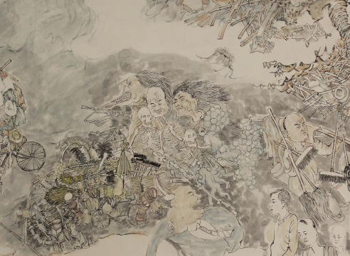 Yun-Fei Ji at the Metropolitan Museum of Art