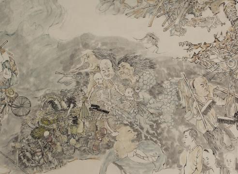 Yun-Fei Ji at the Metropolitan Museum of Art
