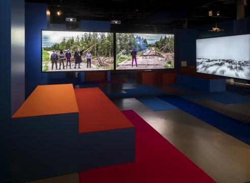 Omar Fast at Zeppelin Museum Friedrichshafen