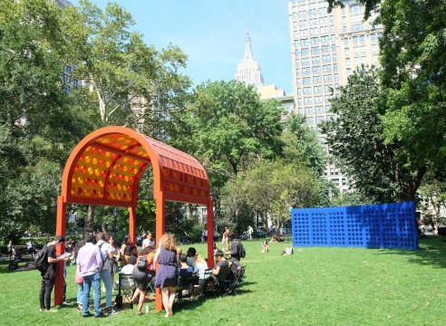 Josiah McElheny for the Madison Square Park Conservancy
