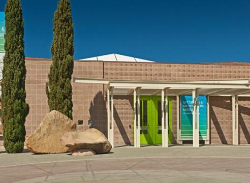 Lee Mullican at the Art, Design & Architecture Museum at UC Santa Barbara