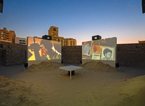 Tuan Andrew Nguyen at Sharjah Biennial