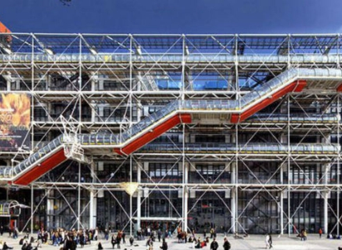 Robert Smithson at Centre Pompidou