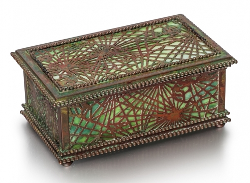 Pine Needle Jewel Box