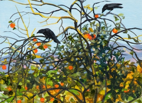 ROBIN GOWEN , Two Crows