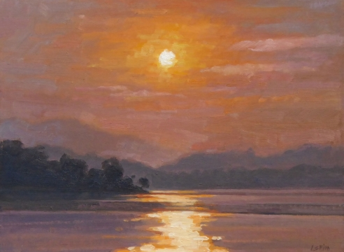 LIBBY  SMITH   , Smoky Sunrise, 2020