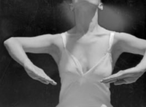 IMOGEN CUNNINGHAM (1883-1976), Martha Graham 25, 1931