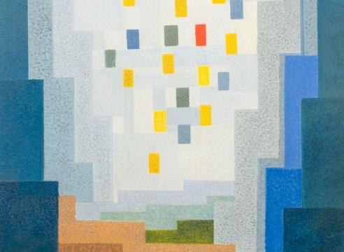 OSKAR FISCHINGER (1900-1967), Abstraction No. 185, 1956