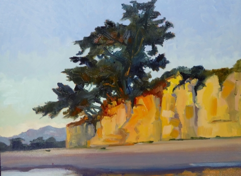 ROBIN  GOWEN , Cadmium Cliffs II, 2020