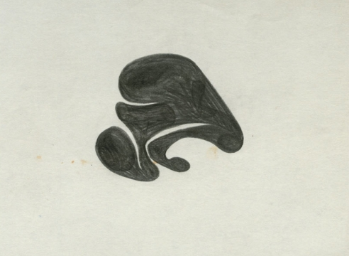 SIDNEY GORDIN (1918-1996), Drawings #56, #42, #42B, c. 1942-43