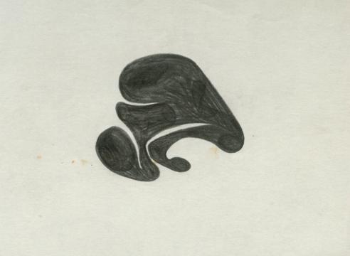 SIDNEY GORDIN (1918-1996), Drawings #56, #42, #42B, c. 1942-43