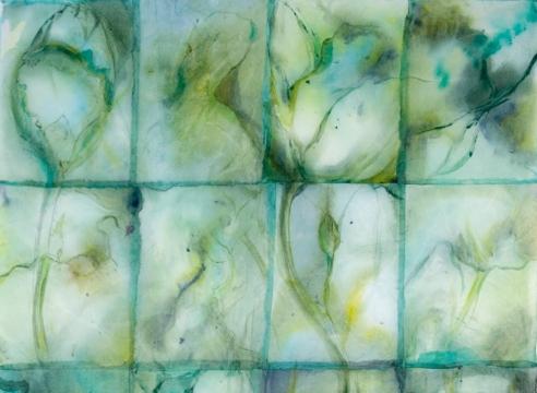 MARY HEEBNER, Green Lotus, 2008