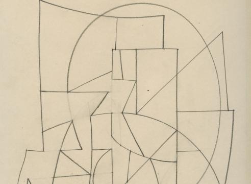 SIDNEY GORDIN (1918-1996), #148, c. 1965