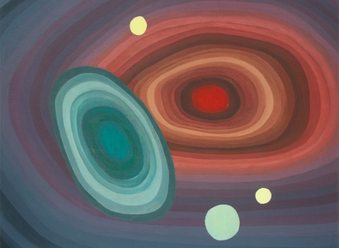 OSKAR FISCHINGER (1900-1967), Orbits in Motion, c. 1965