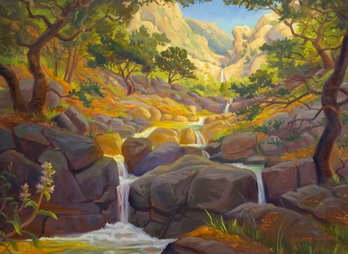 KEVIN GLEASON, The Path to Seven Falls