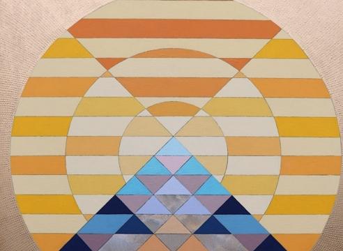 JULIKA LACKNER, Mountain of the Sun 8, 2020