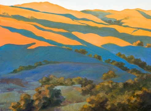 ROBIN GOWEN, Richmond Hills, Late Afternoon, 2020 for ROBIN GOWEN: Sight Lines