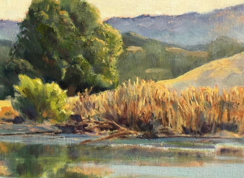 SUSAN BELLONI , Sedgwick Ranch Pond, 2020