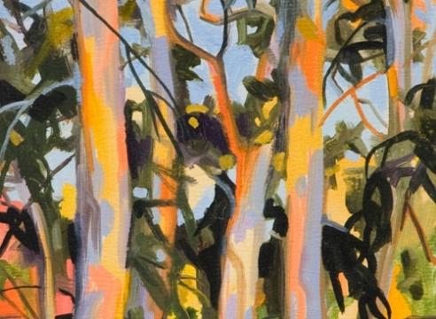 ROBIN GOWEN , Eucalyptus in Calico