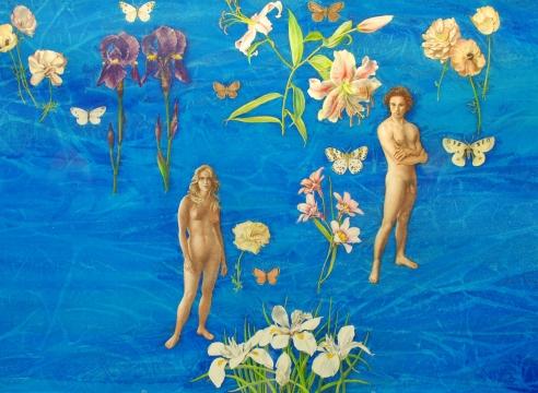 JEAN SWIGGETT (1910-1990), Flower Garden, 1987