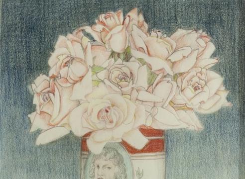BETH VAN HOESEN (1926-2010), Durer's Paint Can, 1980-82