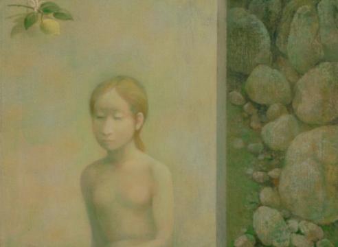 RICHARD HAINES (1906-1984), Young Girl, 1975