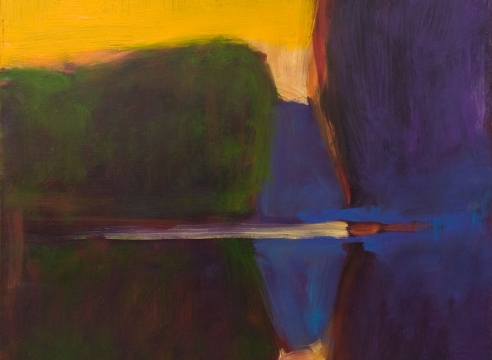 BJORN RYE (1942-1998), Abstracted Landscape, c. 1990s