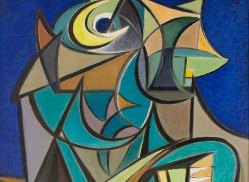 WERNER DREWES (1899-1985), Demon of the Night, 1953