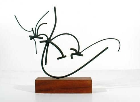 SIDNEY GORDIN (1918-1996), 3-22-58, 1958