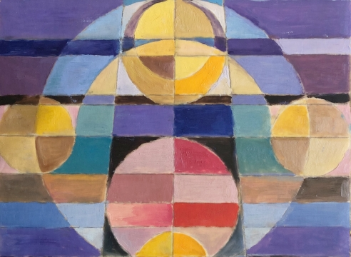 WERNER DREWES (1899-1985), Planetary Orbit (Study), 1984