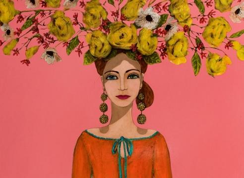 ERIKA CARTER , La Flor De La Ladera, Hermana #2, 2020