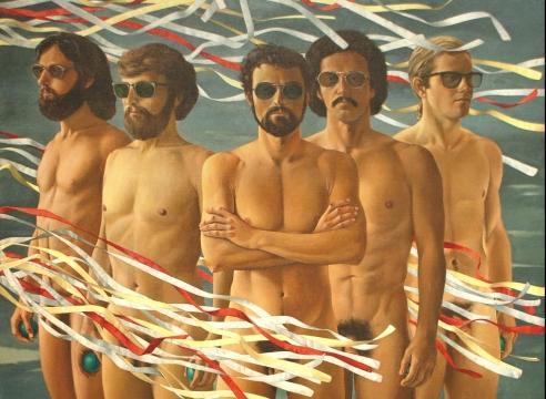 JEAN SWIGGETT (1910-1990), The Ambassadors, 1975