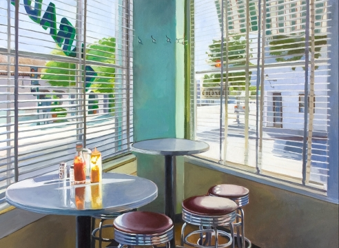PATRICIA CHIDLAW, Paradise Cafe, 2020