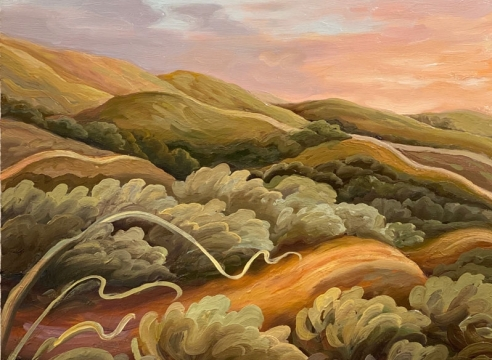 PHOEBE BRUNNER, Ranch Roads, 2020