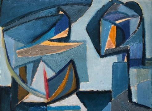 WERNER DREWES (1899-1985), Industrial, 1951